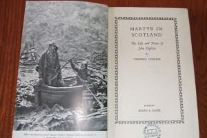 Martyr in Scotland