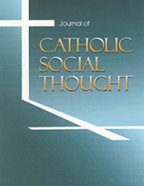 The Journal of Catholic Social Thought