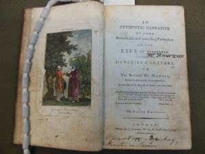 [Newton, John] / An authentic narrative of some remarkable and interesting particularas in the life of ********* ... London, 1786.